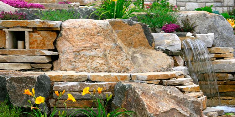 камни в дизайне ландшафта