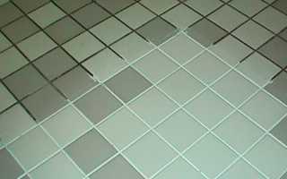 очищение плитки в ванной