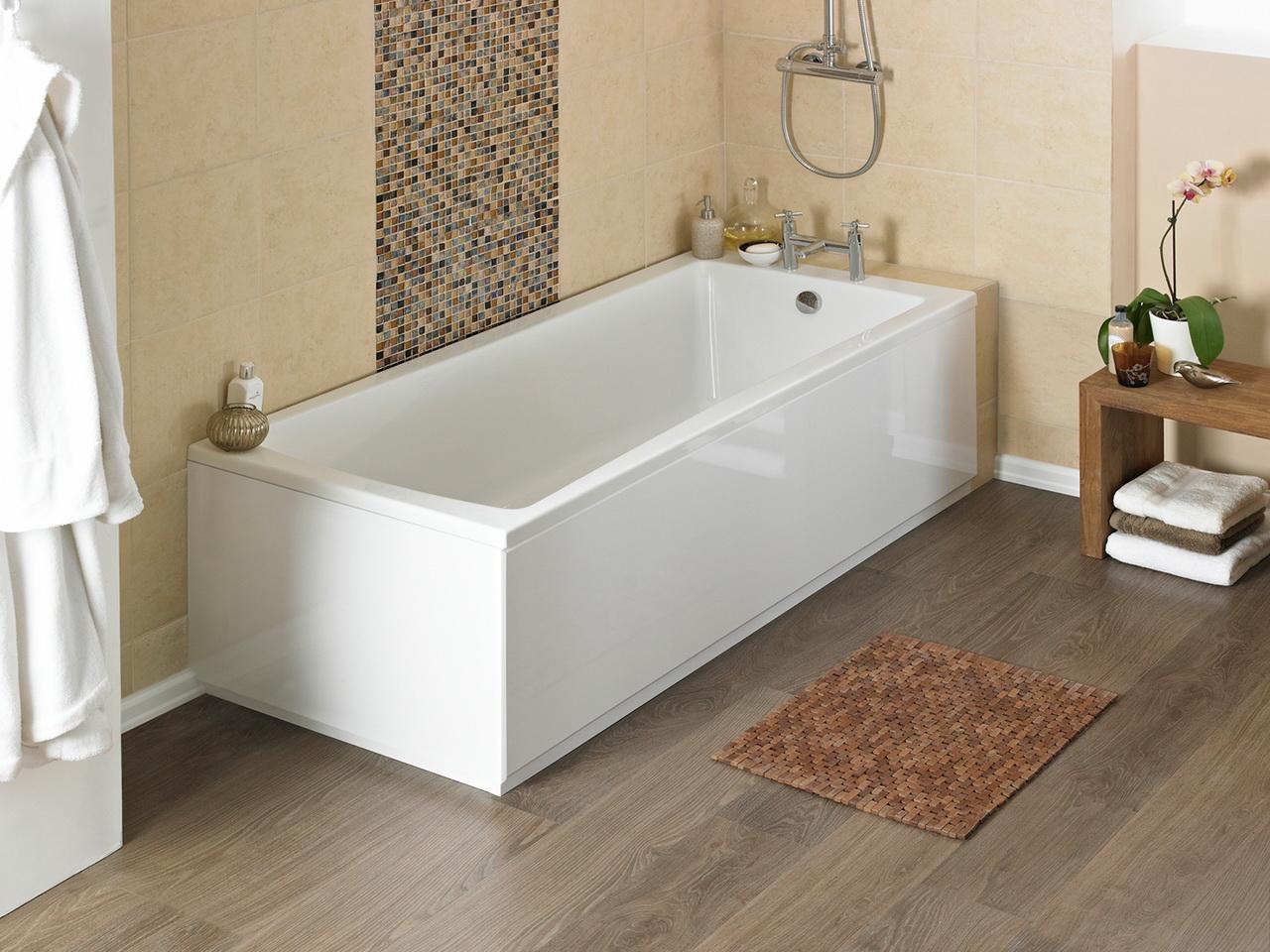 Жидкий акрил или краска на бетонной ванне
