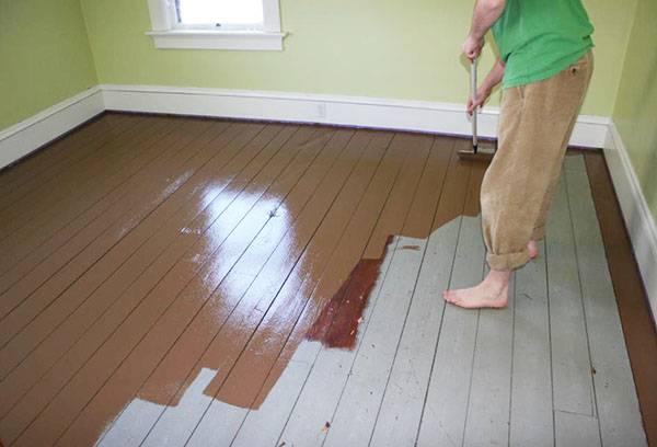 защита краской деревянных поверхностей