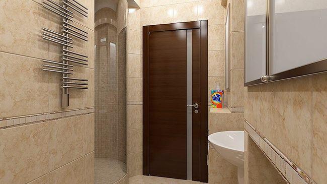 дверь, покрытая шпоном