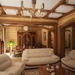 загородный дом дизайн