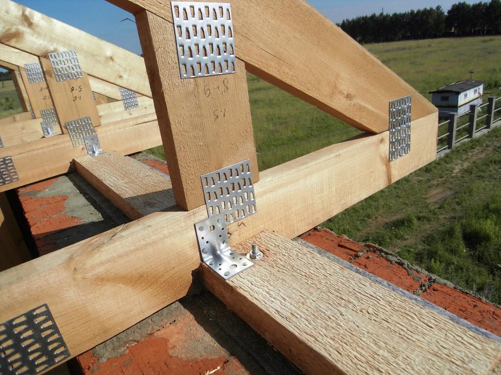 Как правильно сделать каркас крыши