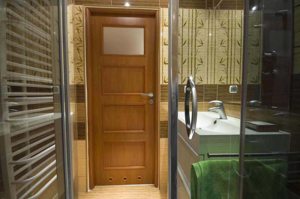 дверь из мдф для ванной