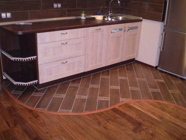 Выбор покрытия для кухонных полов