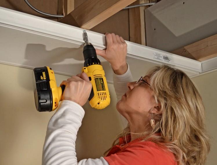 Подготовительные работы для монтажа потолка