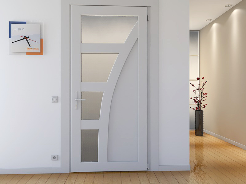 дверь из пластика