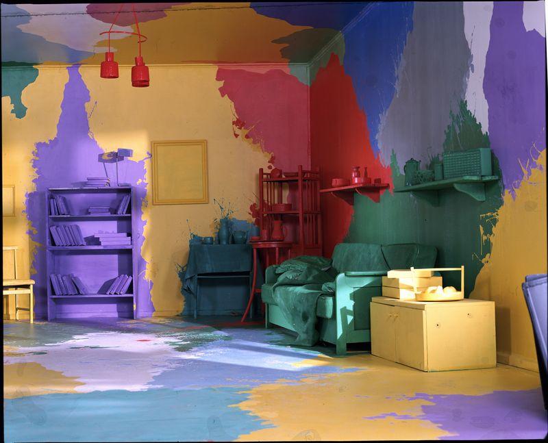 Масляные краски в интерьере