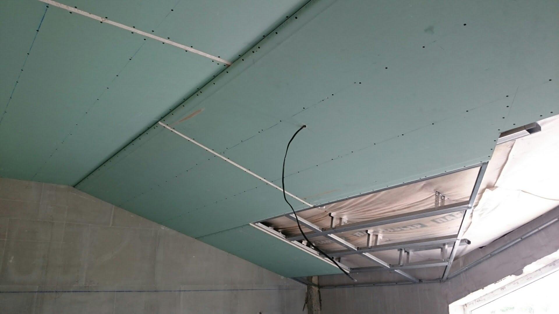 профиль для крепления потолка в ванной