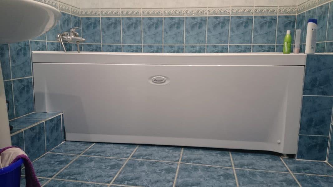 низа ванной своими руками