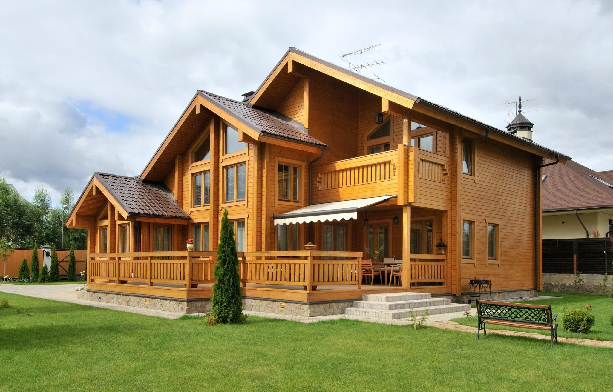 Постройка деревянного дома