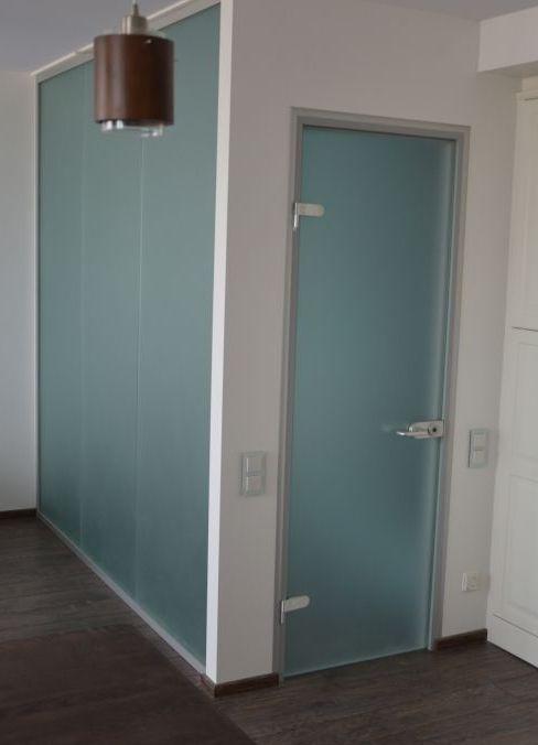 дверь для ванной стекло