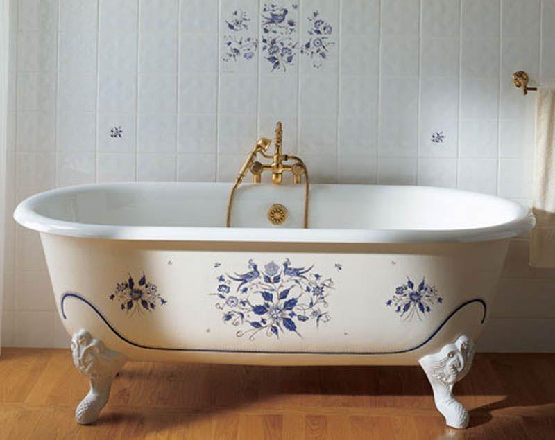 правила установки ванной
