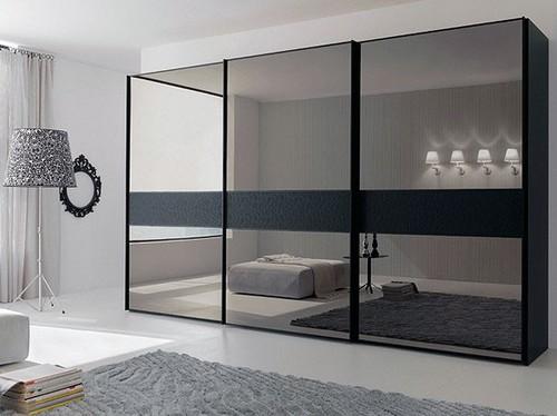 дверь в шкаф-купе зеркало