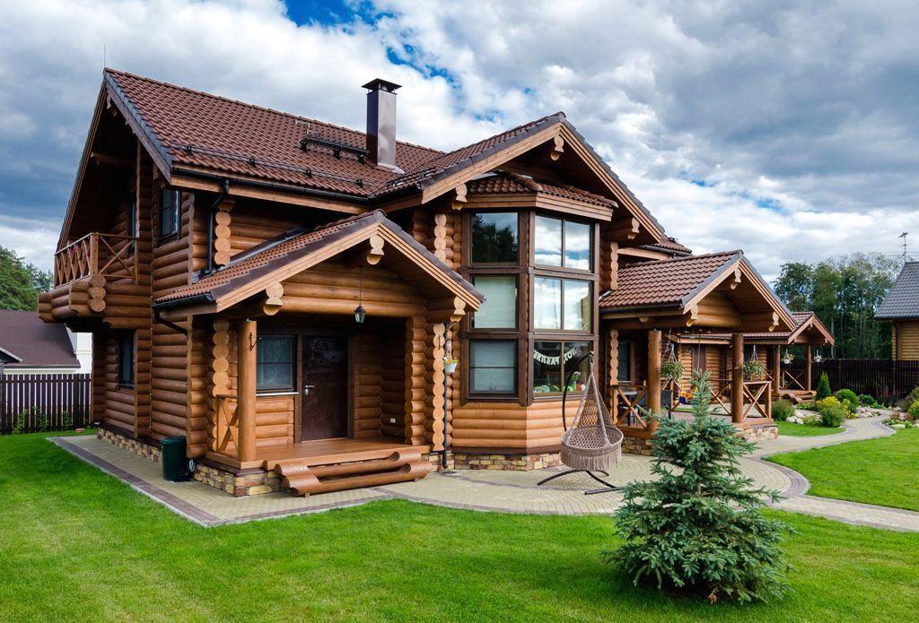 Строим деревянный дом из бревен1