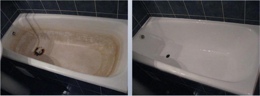 чем отреставрировать старую чугунную ванну