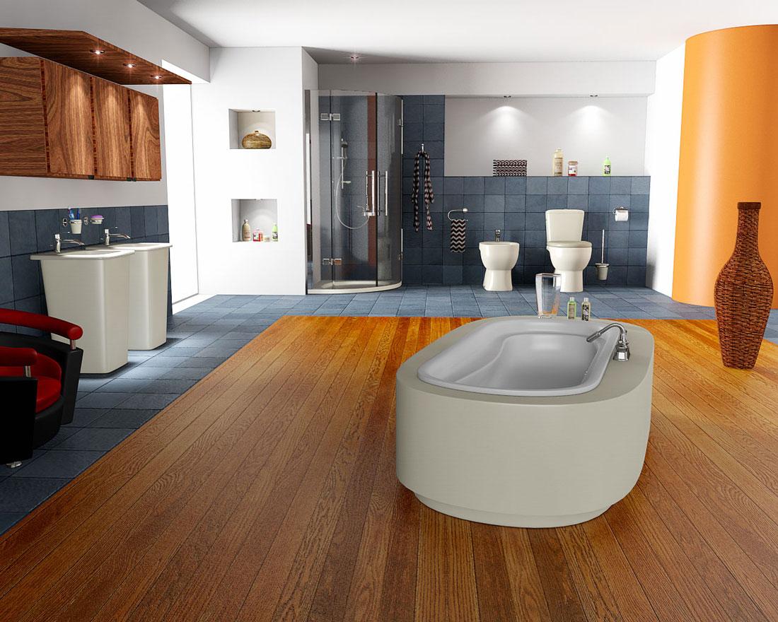 новые модели ванных