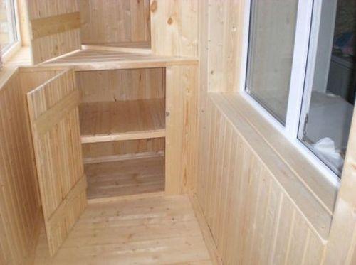 угловой стеллаж для балкона своими руками