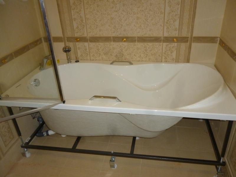 Установка акриловой ванны своими руками: подробная инструкция по монтажу