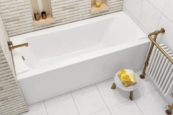 Способы и последовательность установки ванны