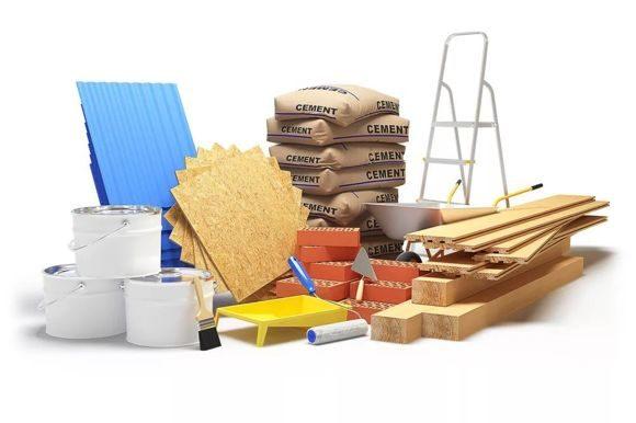 обеспечение объекта строительными материалами