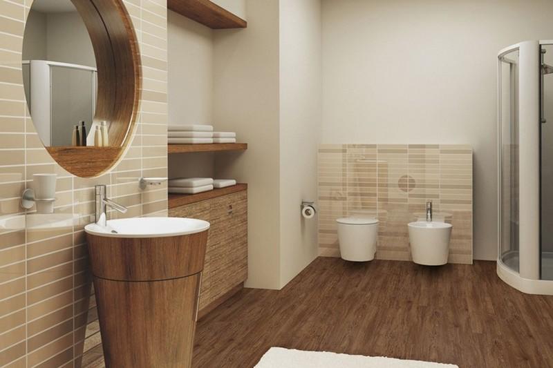 линолиум для ванной комнаты