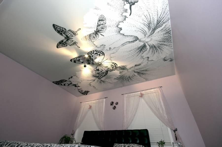 Подвесные потолки с фотопечатью
