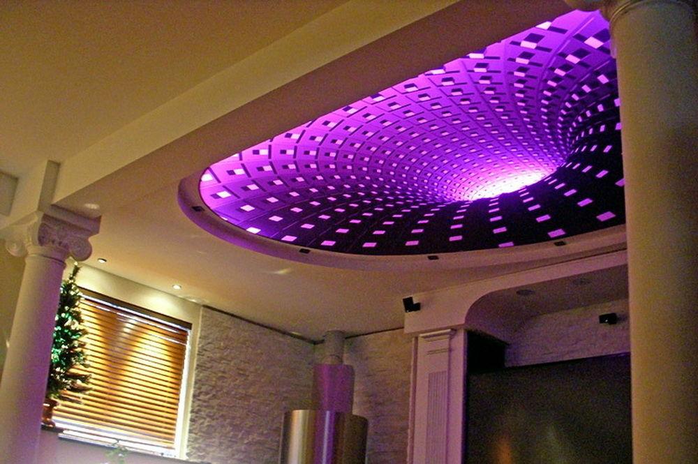 Эксклюзивные 3 D натяжные потолки