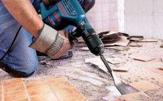 Демонтажные работы – важный элемент ремонта