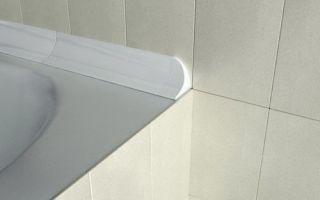 7 способов чем заделать щель между ванной и стеной