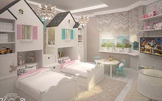 Рекомендации и ошибки в дизайне детской комнаты