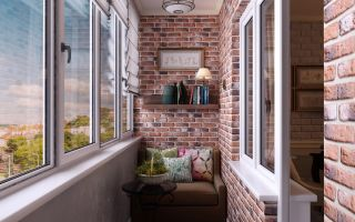 Ремонт и отделка балкона. Качественная отделка балкона