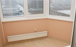 Самостоятельное утепление балкона