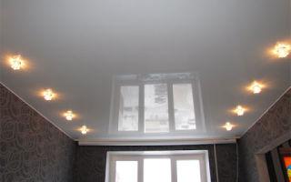 Натяжной потолок — лёгкость и воздушность
