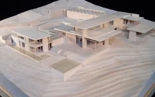 Архитектурный макет загородного дома
