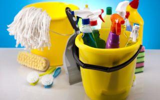 Современные моющие средства при строительстве и ремонте