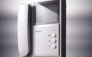 Установка домофона как гарантия вашей безопасности
