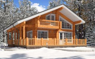 Дом из деревянного клееного бруса