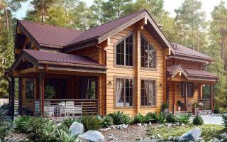 Дом из клееного бруса. Особенности домов из клееного бруса