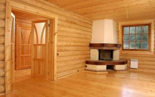 Внутренняя отделка деревянного дома