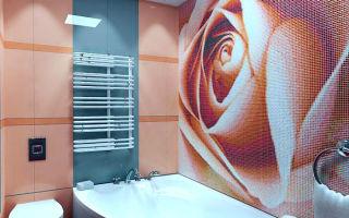 Панно из мозаики на кухню и в ванную комнату.