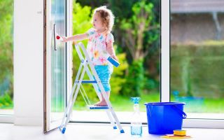 Правила ухода за пластиковыми окнами