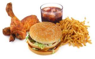 Пища, мешающая построению красивого тела