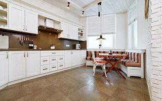 Полы на кухне – выбираем напольное покрытие