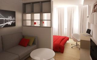 Как поделить комнату на разные зоны