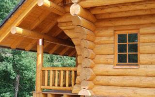 Особенности возведения дома из древесины