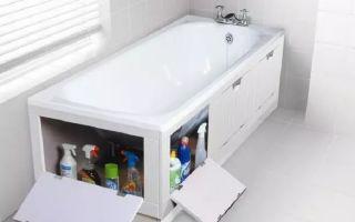 Обзор раздвижных шторок под ванну и как сделать своими руками