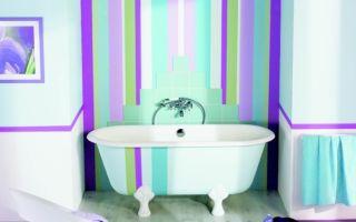 Какую краску выбрать для ванной комнаты
