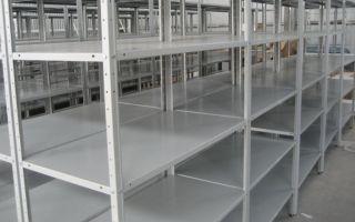 Полочные стеллажи – лучшая мебель для офисов и складов