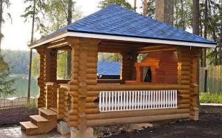 Деревянные беседки – оптимальный вариант для дачного участка